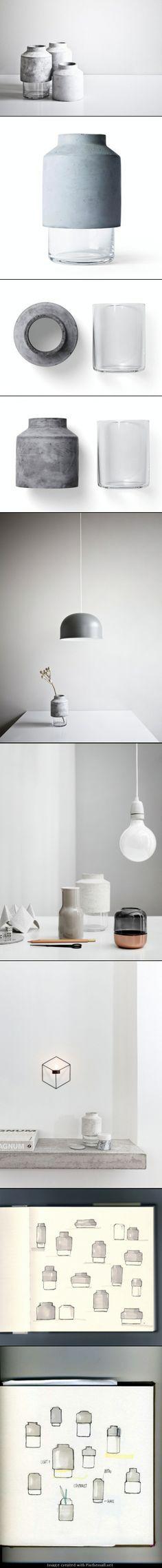 Concrete vase | Concrete product design | Cement | WIllman design | Beton design | Betonlook | www.forbo.com/eurocol/nl-nl?utm_content=buffer4e803&utm_medium=social&utm_source=pinterest.com&utm_campaign=buffer
