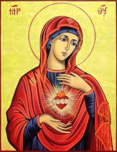 JEZUS en MARIA Groep.: ONBEVLEKT HART VAN MARIA