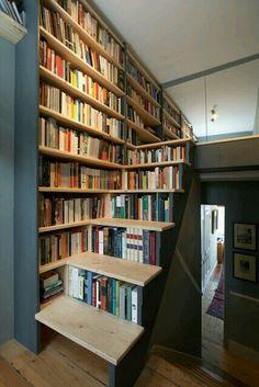 Somewhere to put the books