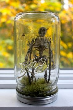 Halloween Mason Jar!
