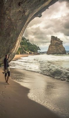 Mystical 'Cathedral Cove' in the Corromandel. The blockbuster film The Chronicles of Narnia Prince Caspian was filmed here! NZ