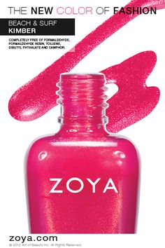 RE-PIN ME! Zoya Nail Polish in Kimber from the Surf Collection http://www.zoya.com/content/38/item/Zoya/Zoya-Nail-Polish-Kimber-ZP622.html?O=PN120521MN00141