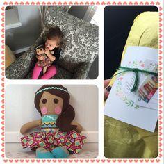Custom plush hand made baby doll by -- Sew Darling Little My, Baby Dolls, Plush, Sewing, Handmade, Dressmaking, Craft, Sew, Stitching