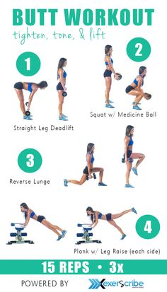 Everyone could use a good tighten, tone, and lift.  Butt lifting workout!  Check out the Exerscribe app for awesome customized workouts.  https://itunes.apple.com/us/app/exerscribe-your-adaptive-workout/id803798097?mt=8