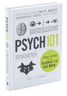 """Psych 101"" - Paul Kleinman Great intro book, easy to read."