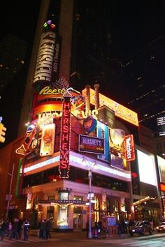 This is not hershey park but the store in times square, Its a little Embasy of the Chocolate world in my hometown
