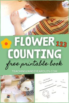 This free garden printable counting book helps toddlers and preschoolers identify numbers from 1-10 as they turn each page. Fine motor skills are also used as each page is colored. A fun activity to go with the gardening theme! #counting #math #flowers #gardening #printable #finemotor #book #activity #preschool #toddler #AGE2 #AGE3 #AGE4 #teaching2and3yearolds Preschool Garden, Preschool Classroom, Toddler Preschool, Teacher Magazine, Time Planner, Counting Books, Teaching Career, Teaching The Alphabet, Personalized Books