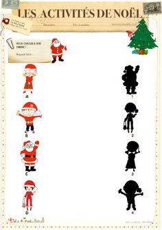 Idée pour Ombres de Noël