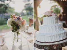 Mint Green And Pink Rustic, Orchard Wedding Part 2