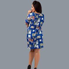 2017 Popular Digital Printing long Dress