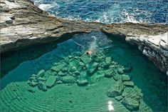 This mega- exciting place is Giola Thassos in Greece.  So who all are coming with me to enjoy a dive here?