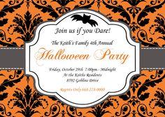 halloween invite style