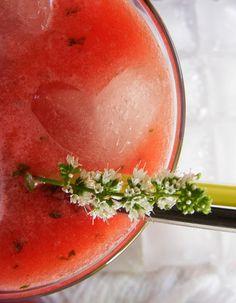 szeretetrehangoltan: Mentás görögdinnyeital