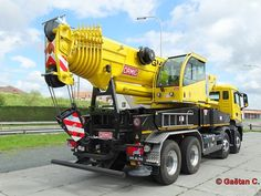 MAN - Ormig 804 AC posted on Kranliste / Cranelist Heavy Construction Equipment, Construction Machines, Heavy Equipment, Benne, Navi, Tow Truck, Transportation, Monster Trucks, Vehicles
