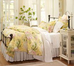 Спальня в стиле Прованс: 50 фото красивых интерьеров