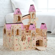 Melissa and Doug Folding Princess Castle - 1263