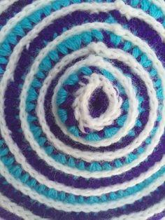 circular #crochet mandala by Leslie for #mandalasformarinke