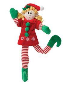This Blonde Girl 10'' Plush Magic Elf by Elf Magic is perfect! #zulilyfinds