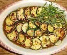 Rezept Gerrys marinierte Antipasti - Zucchini von Gerry kocht - Rezept der Kategorie Vorspeisen/Salate
