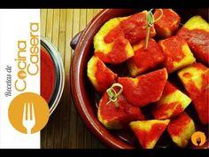 Patatas bravas caseras | Recetas de Cocina Casera - Recetas fáciles y sencillas
