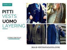 Vests Layering at Pitti Uomo 87 2015 #pittiuomo87 #pittiuomo #pitti #pitti87 #pittiuomo2015 #fashion #trends #menswear #style #layering #vaistcoats #vests #layers