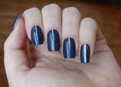 Criminal Nails Sponged and Striped manicure Manicure, Nails, Beauty, Nail Bar, Finger Nails, Beleza, Ongles, Nail Manicure, Nail