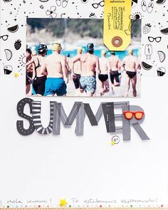 Single page ~ one photo; summer