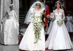 grace-kelly- Lady Diana, Kate Middleton wedding