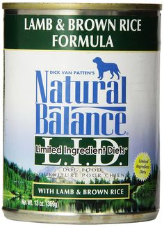 Natural Balance L.I.D. Limited Ingredient Diet Canned Dog Food > Quickly view this special dog product, click the image : Best dog food