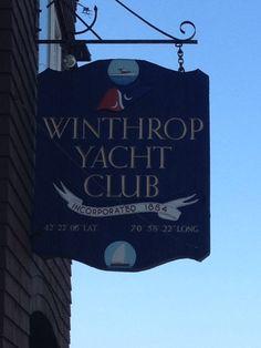 Winthrop Yacht Club in Winthrop, MA