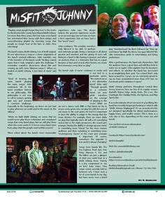 Misfit Johnny by M. Buonauro. They are a dynamic cover band that performs throughout New Jersey.
