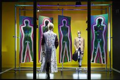 Harvey Nichols - TATE windows by Lucky Fox and Arty Wigs
