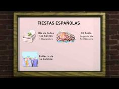 Fiestas españolas - YouTube Teaching Culture, Ap Spanish, Teaching Spanish, Holiday Traditions, Youtube, Videos, 1, History, World