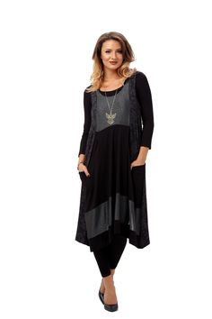 Compleu BLACK/GREY R026 High Low, Black And Grey, Cold Shoulder Dress, Free, Dresses, Fashion, Gowns, Moda, La Mode