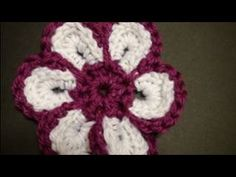 Left Hand Crochet - Left Hand - Cheerful Crochet Flower