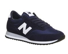 New Balance 620 Trainers Cw Navy White Grey - Unisex Sports Navy Blue Sneakers, Navy Blue Shoes, Blue Suede Shoes, Suede Sneakers, White Shoes, New Balance Trainers, Grey Trainers, Grey New Balance, Narrow Shoes