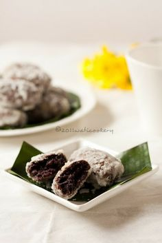 wati cookery: Gemblong Ketan Hitam