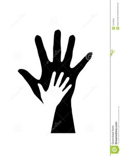 Hands Silhouette Stock Photo - Image: 13478530