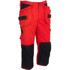These 112642 Wenaas Knee Length Pirate Trousers feature CORDURA® reinforced Knee pockets & a whole host of pockets including one for your phone