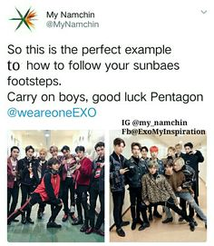 My Namchin #exo #pentagon #indianexol