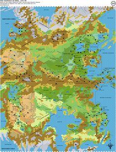 The Hollow World: the Interior of the World of Mystara.
