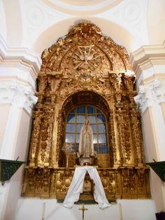 Iglesia de Santo Tomas Cantuariense. Camarin de la Virgen de Fátima. En su origen fué la Capilla de la Virgen del Sagrario. Siglo XVIII