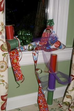 elf all wrapped up in wrapping paper