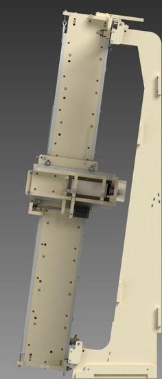 greenLean CNC Machine Side View