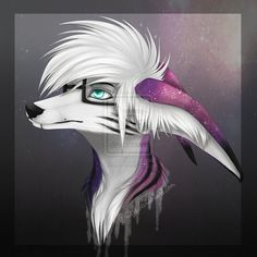 Artist unknown Fawkes very first piece of art, before any of the refs. Ear markings are often forgotten.