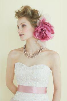 #NOVARESE #wedding #accessory #ring #earring #hedaccessory #necklace #styling #flower #hair #pink #ノバレーゼ #ウエディング #アクセサリー #リング #イヤリング #ネックレス #スタイリング #フラワー #髪型 #ヘッドアクセサリー #ピンク  #dress #ドレス