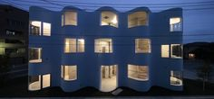 Photograph: Koichi Torimura  Higashifuchuu Apartments / Mejiro Studio / 2010