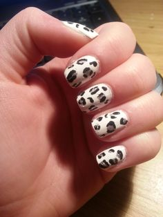 The C was sold to pay for polish 💅. Leopard Print Nails, Polish, Beauty, Vitreous Enamel, Beauty Illustration, Nail, Nail Polish, Nail Polish Colors