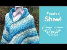 How To Crochet A Shawl: Caron Cake Shawl - YouTube
