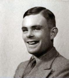Alan Turing passport photo